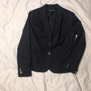 Denim look NY&Co 7th Ave suit jacket